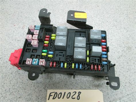 ford   super duty dash fuse box power