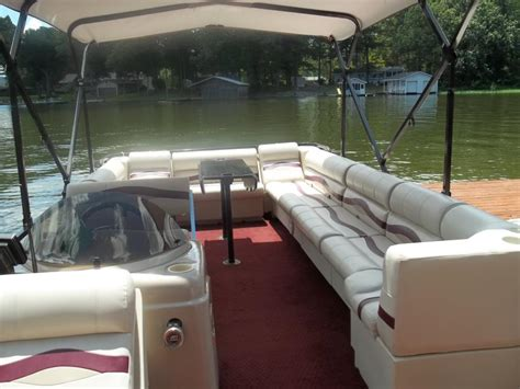 Used Tritoon Boats For Sale In Alabama by Pontoon Boats For Sale In Boaz Alabama