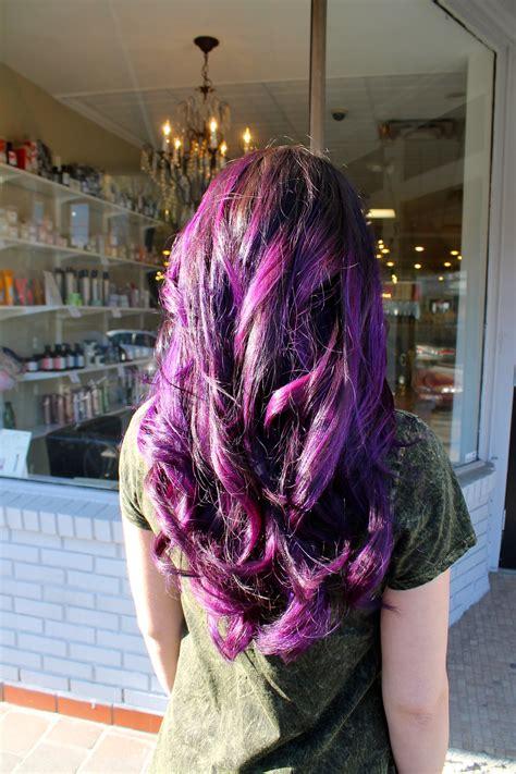 Purple Hair Grace To Create