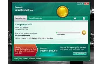 Kaspersky Virus Removal Tool screenshot #1
