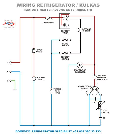 Refrigeration True Wiring Diagram