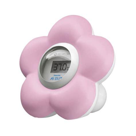 Thermomètre Numérique Bain Et Chambre Rose Avent Pour