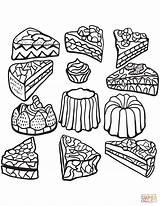 Coloring Cakes Cupcake Cupcakes Cup Zentangle Coloriage Colorare Colorear Cake Disegni Gateaux Imprimer Adults Adulti Tortas Dessin Printable Adult Gateau sketch template