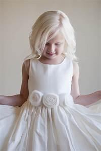 an ivory flower girl dress sfor beach wedding or rustic With wedding flower girl dresses