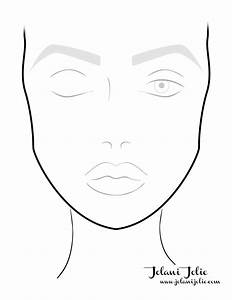 make-up plan - Google zoeken | Blank facecharts ...