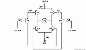 Bigtrak Motor Drive Circuit Diagram
