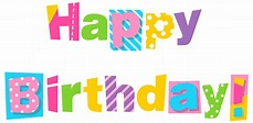 Colorful Happy Birthday Clipart Image | Birthday clipart ...