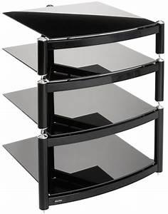 Hifi Tv Rack : equinox celebration black 4 shelf r s hifi stand ~ Michelbontemps.com Haus und Dekorationen