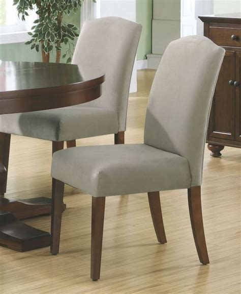 beige velvet 38 quot dining chair set of 2 from monarch
