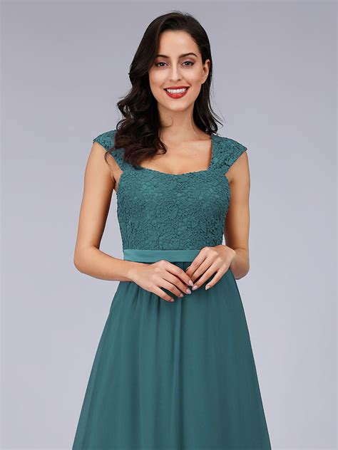 Ever-Pretty US Lace Long Bridesmaid Prom Dresses Cocktail ...