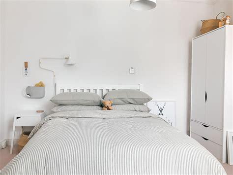 modern neutral millennial pink bedroom    boy
