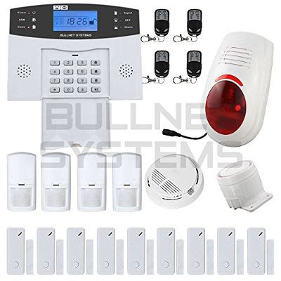 avis et test de l alarme maison sans fil gsm bullnet systems