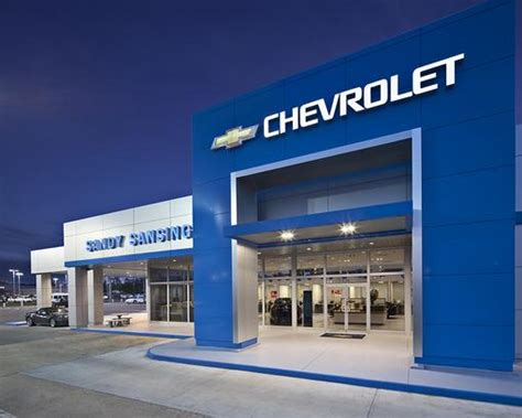 Sandy Sansing Chevrolet Car Dealership In Pensacola, Fl