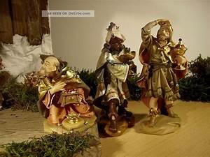 Krippenfiguren Holz Geschnitzt : hl 3 k nige holz krippenfiguren geschnitzt m zertifikat ~ Watch28wear.com Haus und Dekorationen