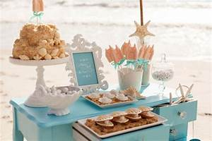 decorating ideas for a beach bridal shower With beach wedding shower ideas
