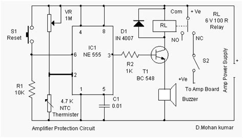 Audio Amplifier Protection Circuit
