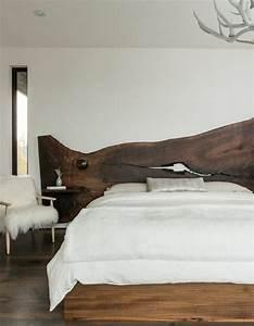Bett Kopfteil Holz : bett aus holz mit gepolstertem kopfteil ~ Sanjose-hotels-ca.com Haus und Dekorationen