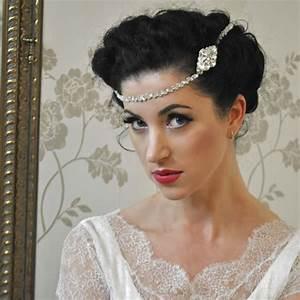 Wedding Hair Chain Beyond Time Handmade