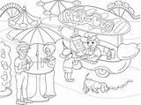 Coloring Park Pages Amusement Theme Dog Children Truck Illustration Vector Para Parque Colorir Desenho Getdrawings Zentangle Imagem Sheets Clipart Getcolorings sketch template