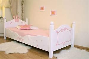 Lit Princesse 90x190 : kinderbett prinzessin wei rosa im shop von oli niki ~ Teatrodelosmanantiales.com Idées de Décoration