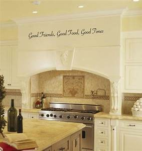 best 25 kitchen decals ideas on pinterest quotes for With best brand of paint for kitchen cabinets with vinyl word wall art