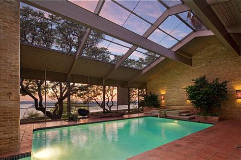 beautiful homes  indoor pools
