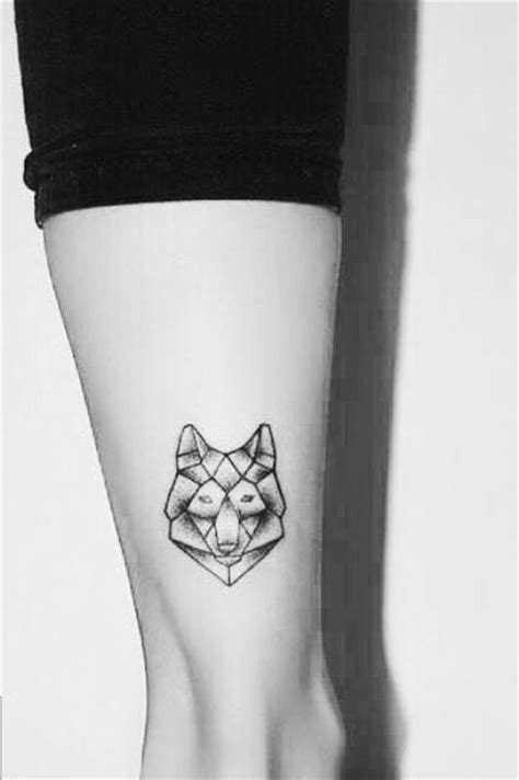 small wolf women tattoo ideas styleoholic