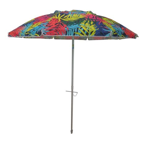 colorful patio umbrellas destinationgear 7 ft aluminum push up drape patio