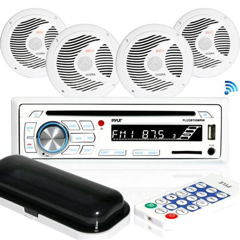 Pyle Boat Stereo Reviews by Pyle Plcdbt85mrw Marine And Waterproof Receiver