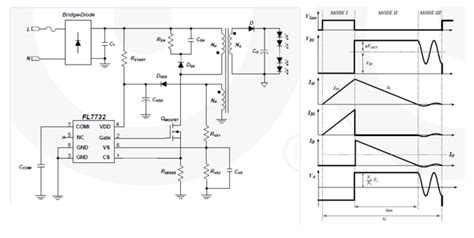fairchild primary side regulated flyback led driver