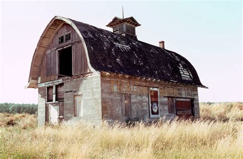 Barn Roofing by Curved Roof Barn In Oregon The Shelter
