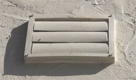 bathroom fan exterior vent covers kitchens how can i prevent the clanging of my extractor