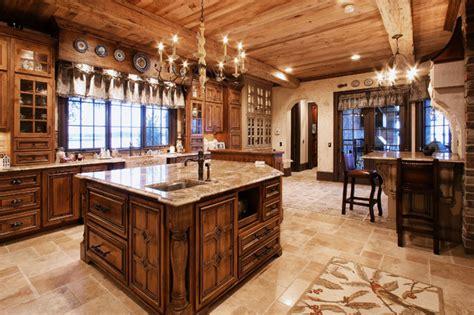 Kitchen Lighting Ideas Over Island - old world kitchen traditional kitchen charlotte by walker woodworking