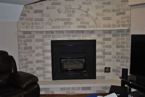 how to paint a fireplace painting a brick fireplace makeover how to image of gloss white loversiq