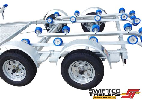 Swift Boat Weight by Swiftco Double Jet Ski Trailer Roller Type