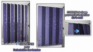 Store à Lamelles Verticales : store lamelle stores lamelles a bande vertical pour fen tre ~ Premium-room.com Idées de Décoration