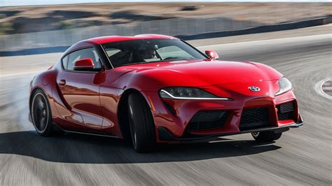 Eight Supercars Slower Than a 2020 Toyota Supra