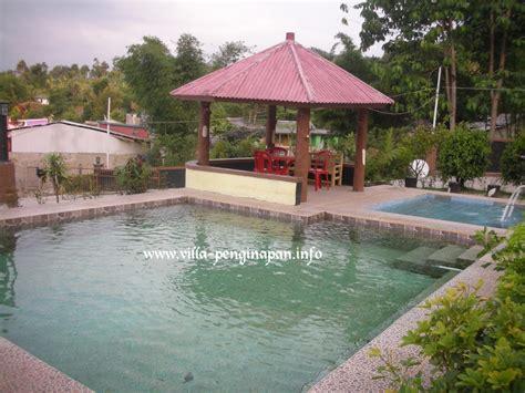 villa  fasilitas kolam renang air panas pribadi