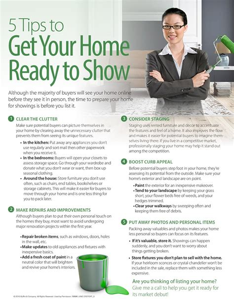5 Tips To Get Your Home Show Ready!!!  Higgins Team