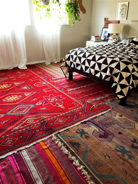 layering area rugs enjoy it by elise blaha cripe new home