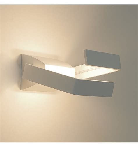 applique led applique led alluminio design 2 rettangolo arca