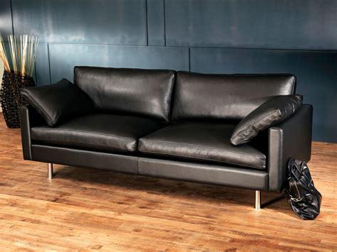 canapes en cuir canapé cuir design et haut de gamme canapé