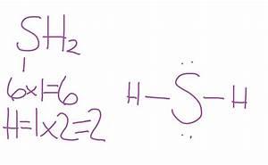 Lewis Dot Diagram For H2s