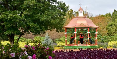 botanical gardens dallas the 12 days of at dallas arboretum a