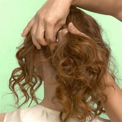 Updo Easy Step Curls Tutorial Tight Hair