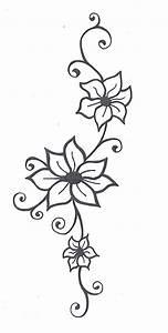 Pin by Taj Colours on Drawing ideas   Vine tattoos, Flower ...