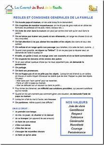 Regle De La Maison A Imprimer : r gles de vie en famille ducation pinterest ~ Dode.kayakingforconservation.com Idées de Décoration