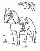 Horses Bestcoloringpagesforkids sketch template