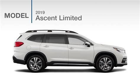 subaru ascent limited suv model review youtube