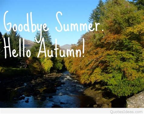 goodbye summer pictures wallpapers sayings  autumn